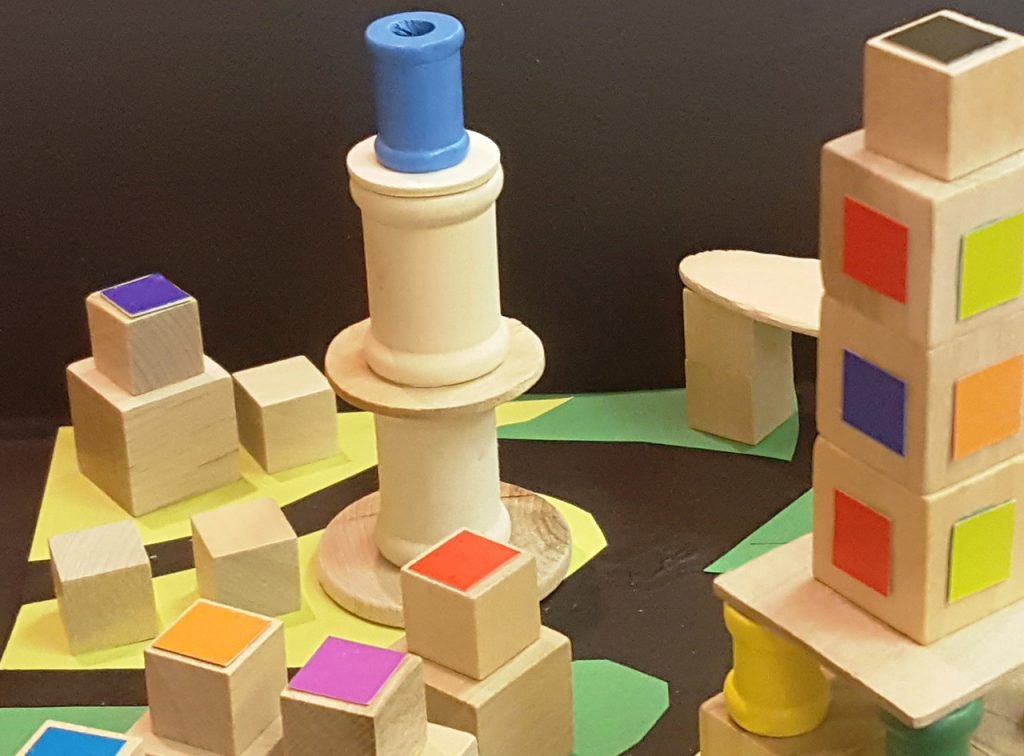 Building Blocks with Colors