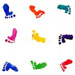 colorful-baby-feet